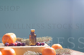 Glowing Essential Oil Holidays