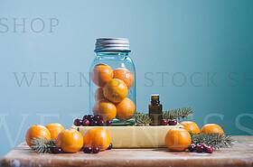 Vintage Jar of Oranges EO