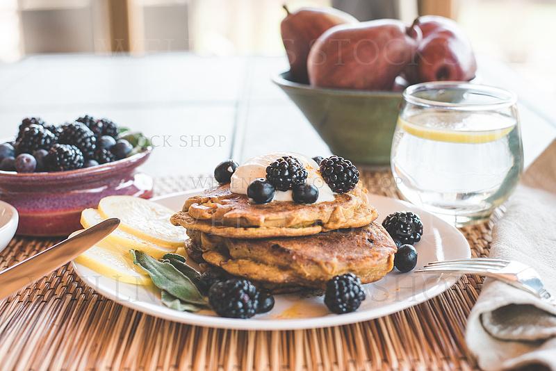 Pancake Breakfast Table